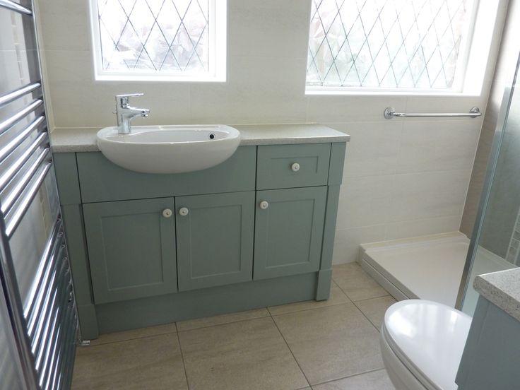 modern line bathrooms gallery  duck egg blue bathroom