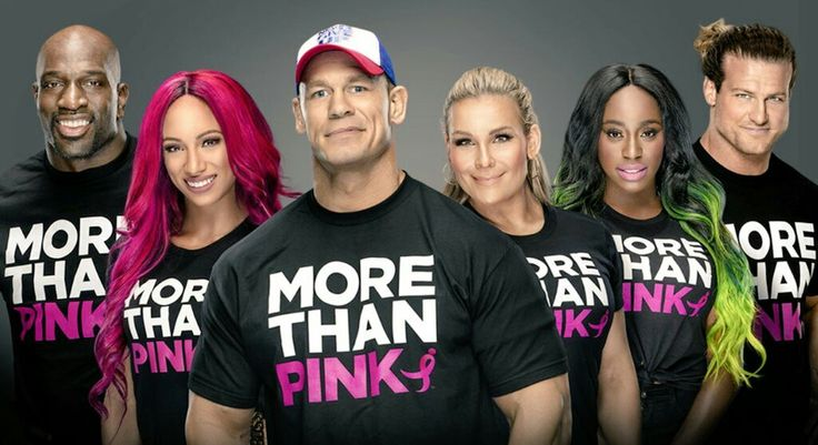Titus O'Neil, Sasha Banks, John Cena, Natalya, Naomi, Dolph Ziggler