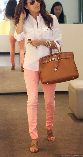 1000 Ideas About Light Pink Pants On Pinterest