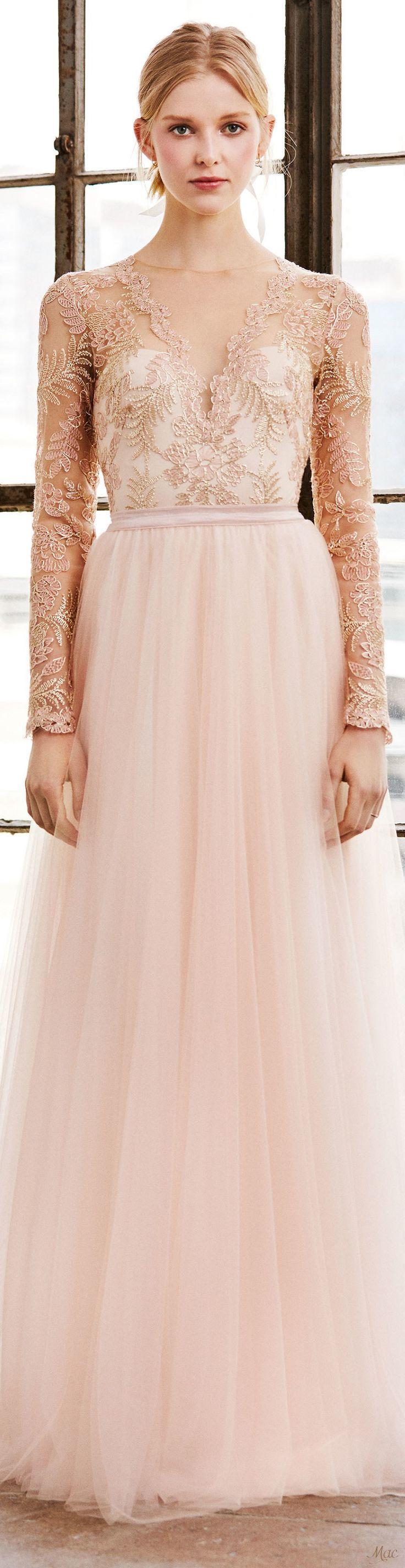 Lujo Vestido De Novia Tadashi Colección de Imágenes - Colección de ...