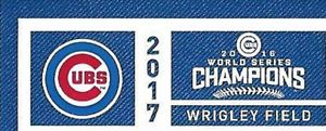 2  - CHICAGO CUBS vs LOS ANGELES DODGERS 4/10 Opening Day Tickets | eBay
