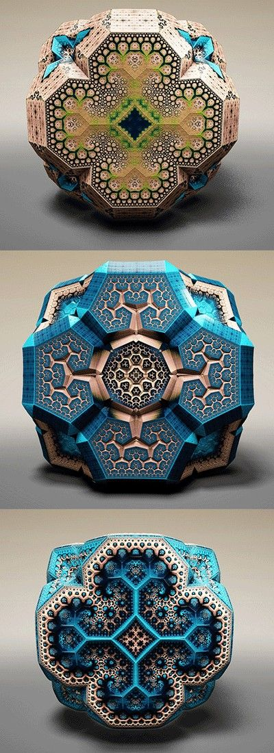 Fabergé Fractals #fractals nice to see these works again.