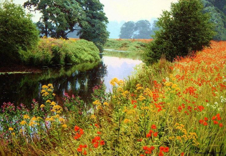 Сказочно-прекрасные миры, где уютно и тепло... Michael James Smith