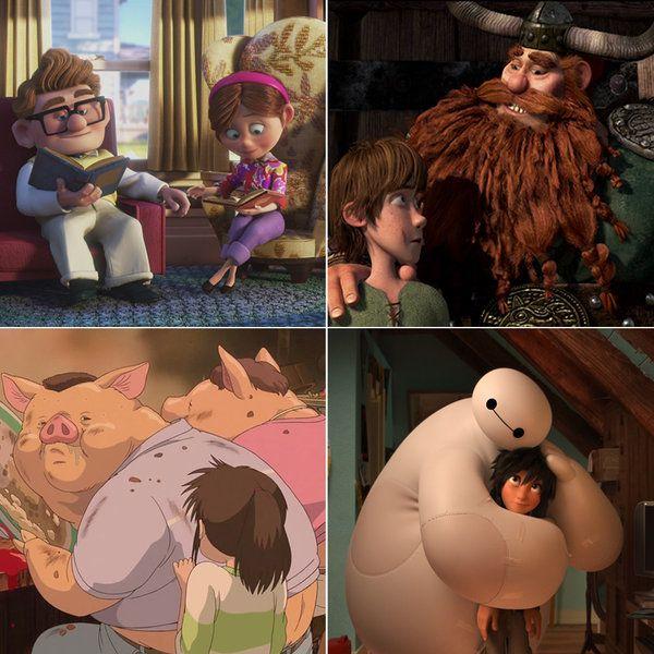 10 películas para ayudar a los niños a superar el duelo.