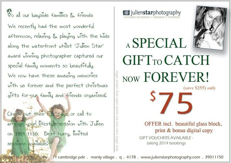 Exclusive Portrait offer from Julien Star Photography