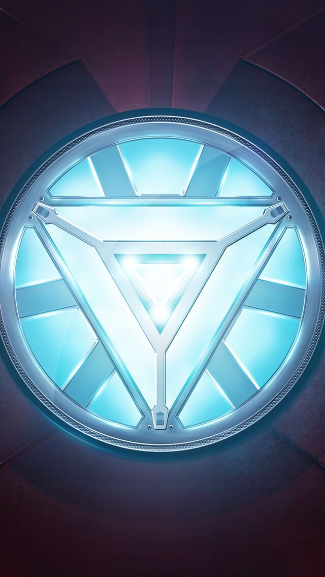 Arc Reactor in Iron Mans' chest