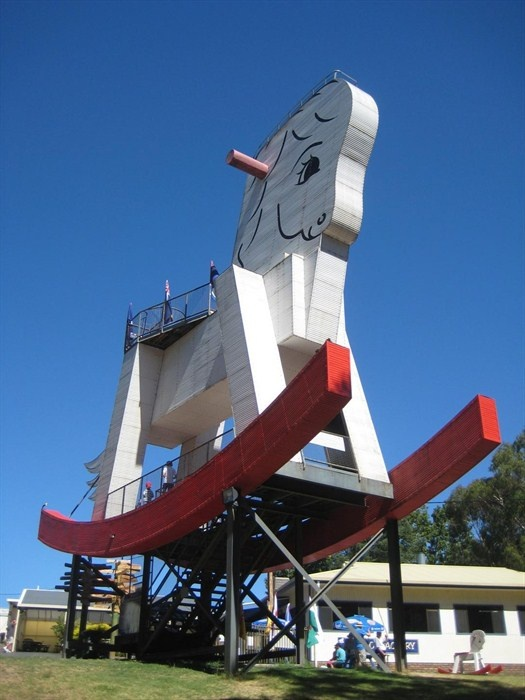 The Big Rocking Horse - Gumeracha, South Australia