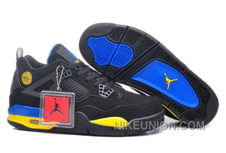 http://www.nikeunion.com/discount-code-air-jordan-4-shanghai-black-blue-yellow-for-sale.html DISCOUNT CODE AIR JORDAN 4 SHANGHAI BLACK BLUE YELLOW FOR SALE Only $69.13 , Free Shipping!