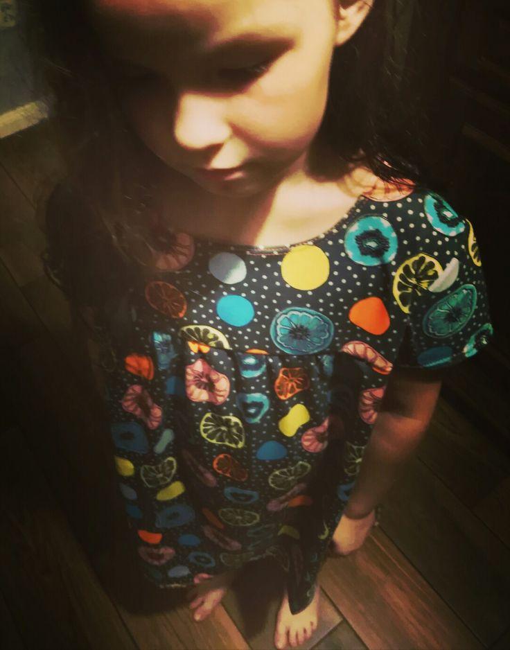 Sukienka/koszula nocna - 04/2018
