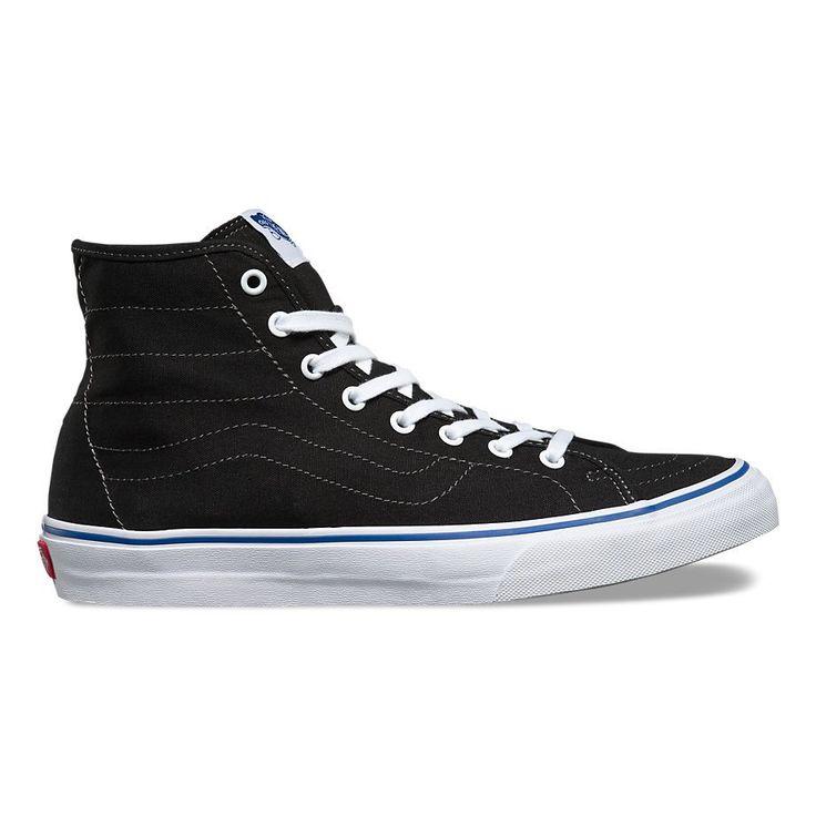 Vans Canvas SK8-HI Decon (Black/ True White)