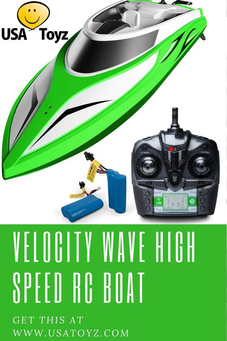 Velocity Wave High Speed Remote Control Boat Remote