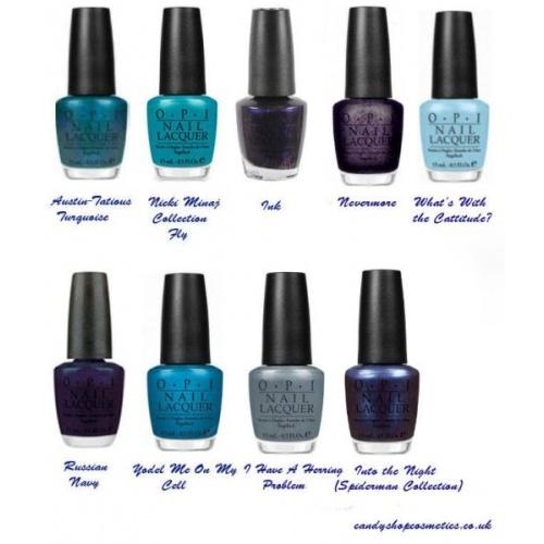Blue Nail Polish Names