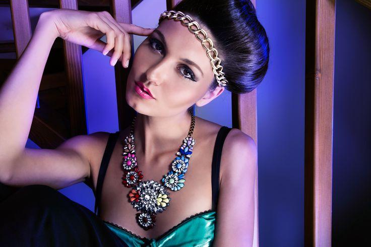 ADV Bijoux brand #fashion #bijoux #jewelry #model #makeup #hair #style #adv #advertising