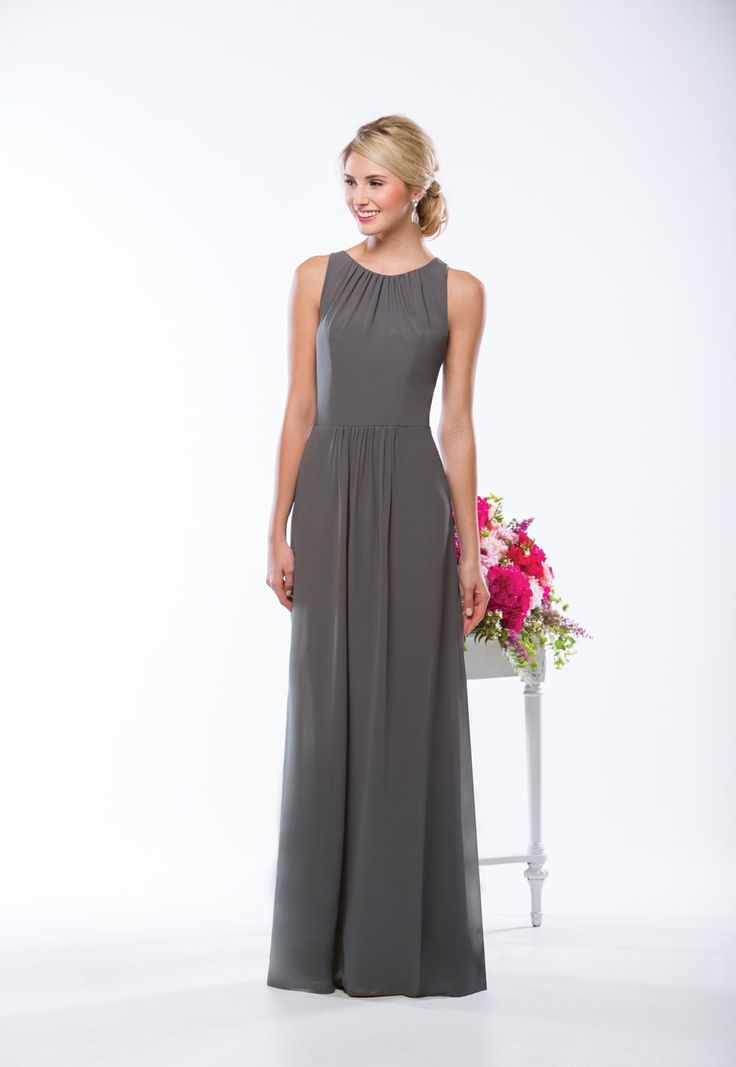 grey-bridesmaid-dress-