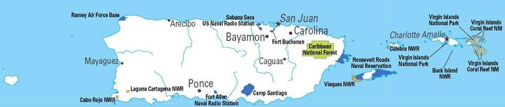 U.S. military installations in Puerto Rico, throughout the 20th century ◆Puerto Rico - Wikipedia http://en.wikipedia.org/wiki/Puerto_Rico #Puerto_Rico