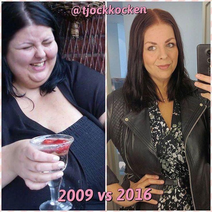 """From @tjockkocken Jag har stått still i vikt sedan drygt ett år tillbaka. Brukar pendla 2-3 upp och ner i månaden runt mens eller om jag """"fuskat"""". Jag har inget behov av att gå ner mer i vikt absolut - går jag ner med så är det väl bra (ur hälsoskäl och främst den dagen jag vill satsa på bli gravid tex) men jag har inget BEHOV av det. Jag är nöjd med min resa jag är stolt över hur långt jag har kommit och att ha tappat 120-123 kg är det som förändrat mitt liv. Jag kommer aldrig igen fokusera…"""