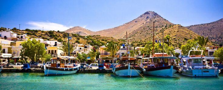 Elounda City Crete Greece