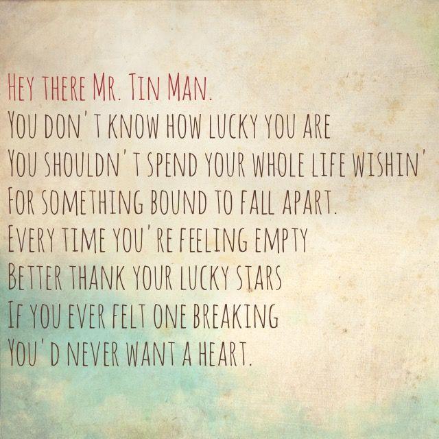 Tin Man, Miranda Lambert