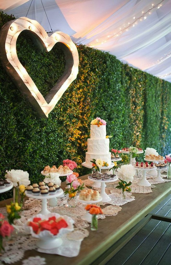 Delicious and Delightful Wedding Dessert Displays