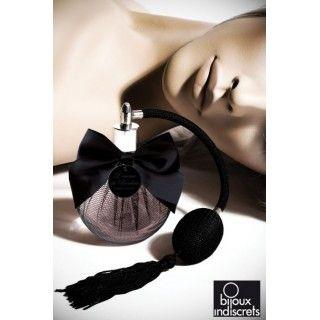 The Essence of Boudoir Perfume: http://www.secretbite.com/Aphrodisiac-Bed-Sheets-Perfume