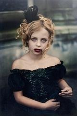 Child Vampire- I'm totally making my kid do this.