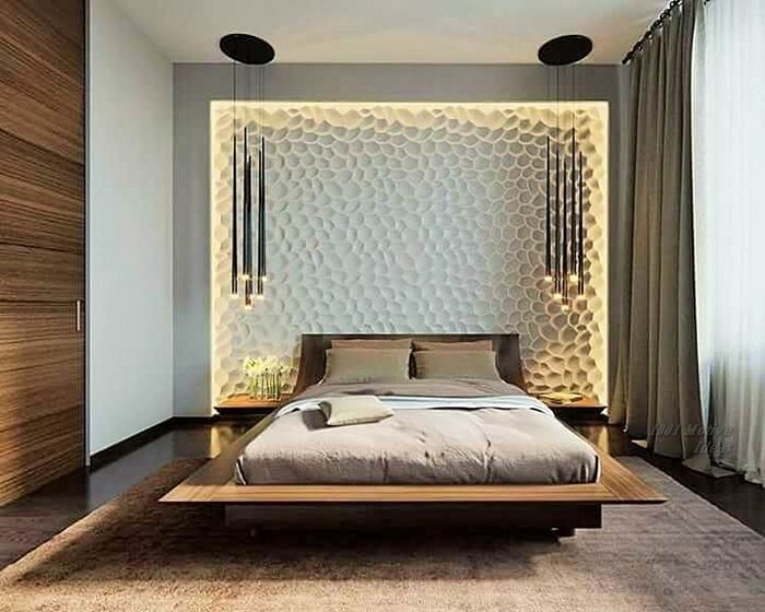 Ideas For A Wonderful Bedroom Decoration With Images Bed