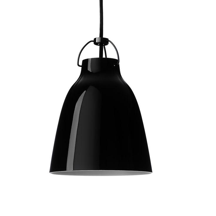 Caravaggio BlackBlack Taklampa P1, Svart, Lightyears