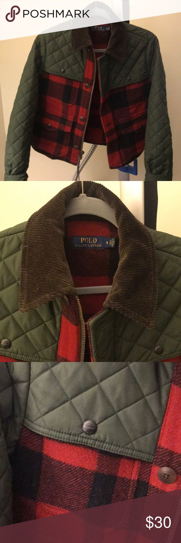 Lumber style Polo jacket Very chic, country, stylist lumberjack coat. Great condition! OR BEST OFFER, Bundle & save! Polo by Ralph Lauren Jackets & Coats