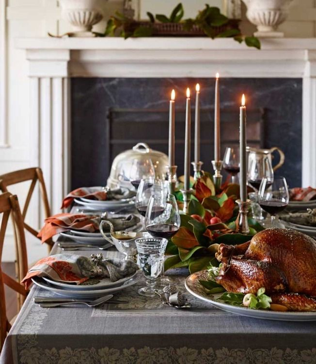Setting the Thanksgiving Table | Williams-Sonoma Taste ...