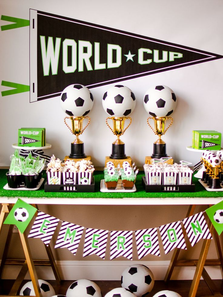 Calling all soccer fans! You are going to love our Wold Cup Soccer Party! Check out all the fun sports party supplies at Oriental Trading today.