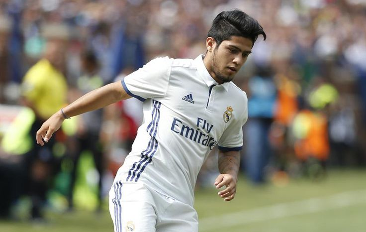 Meet Real Madrid's 18-year old, nicknamed the 'Paraguayan Aguero'.  http://www.thefootballmind.com/ramnarayan