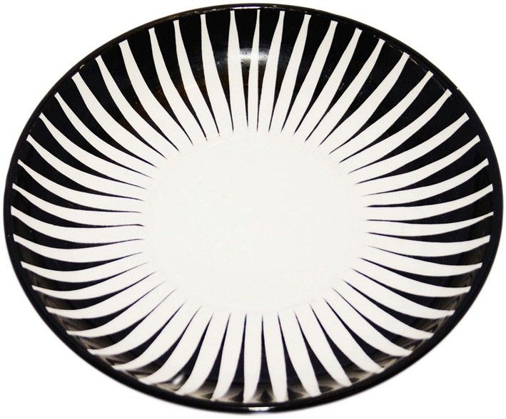 "Eugen Trost, ""Zebra"" cup plate via Restore. Click on the image to see more!"