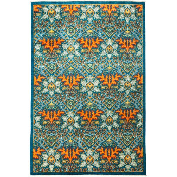 This area rug collection contains a variety of rugs that are borderless, modernist, abstract, art deco derived, asymmetric, large-patterned, contemporary creations, or even Rorschach Blot designs. This collection has virtually no stylistic bounds and includes design influences from almost any period and culture. Oversized rugs and large living room rugs in this collection are especially impressive.