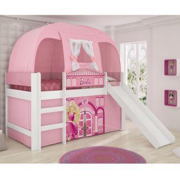 Compre Cama Barbie Play e pague em até 12x sem juros. Na Mobly a sua compra é rápida e segura. Confira!