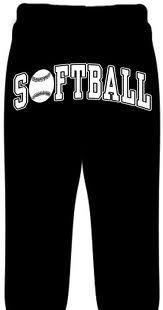 Softball Fleece Sweatpants