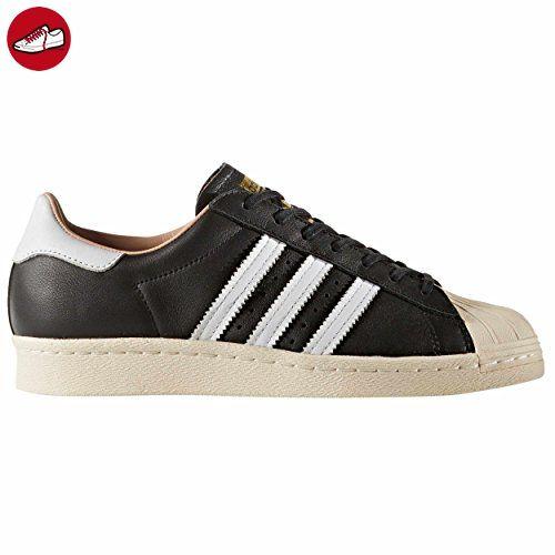 adidas Superstar 80s W Schuhe Damen BY2958 Sneakers black/white (39 1/3 EU - 6UK, Black) - Adidas schuhe (*Partner-Link)
