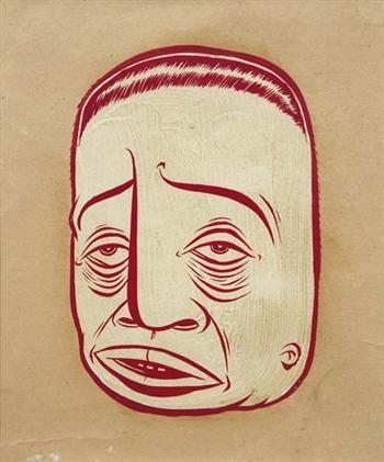 Barry McGee, Portrait, 1997