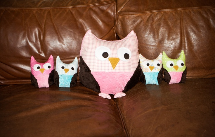 Sharing the Wealth: Snuggly Owl link for small owl pattern is at bottom of post