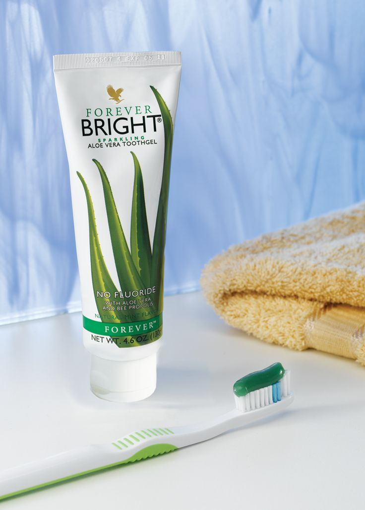Forever Bright Toothgel is a gentle, non-fluoride formula contains aloe vera and bee propolis to help to strengthen and protect teeth and gums whilst fighting plaque and whitening teeth. With no bleaching agents, children and adults will love it!