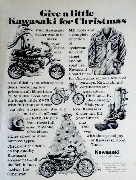 Kawasaki Motorcycle Gifts