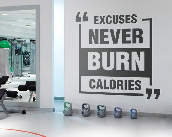 Exercise Stickers Gym Wall Decal Workout Stickers Fitness Etsy Gym Wall Decal Gym Wall Decor Workout Room Decor