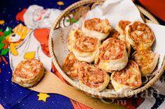 Итальянские закусочные мини-пиццы