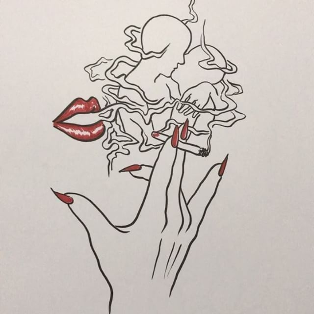 Was All A Perfect Dream With Images Art Drawings Smoke Art