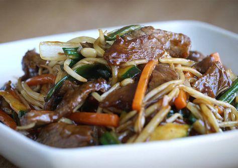 Chop suey ternera