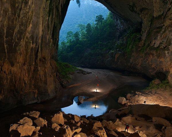 Hang Son Doong cave in Vietnam