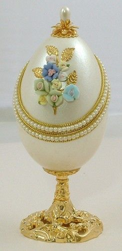 Decorated Cloisonne Egg.
