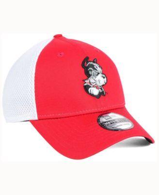 New Era Boston Terriers Mb Neo 39THIRTY Cap - Red/White M/L