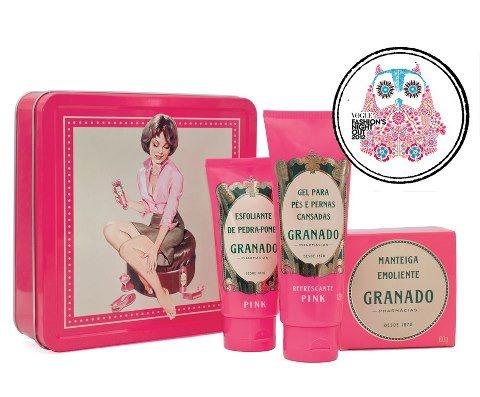 A Vogue visitou a loja da Granado e elegeu os seus produtos favoritos para o FNO Brasil! Quer saber quais foram?! Anota ai! TOP 4: Kit Pink retrô! Quem concorda?!