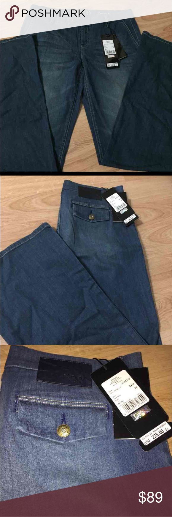 NWT ESCADA Sport Bonnie Flare Jeans 38 NEW ESCADA Sport Bonnie Flare Jeans   -MSRP: $225.00  -Size: 38   Brand new with original tags. This is a beautiful and classic pair of jeans that can be worn anywhere! Very high quality. A wonderful addition to any closet! Escada Jeans Flare & Wide Leg