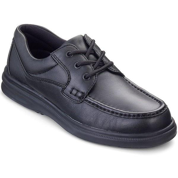 Hush Puppies Gus Mens Moc Toe Oxford Shoes